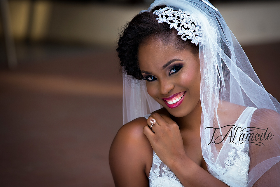 Nigerian Bridal Natural Hair and Makeup Shoot - Black Bride - BellaNaija 2015 13