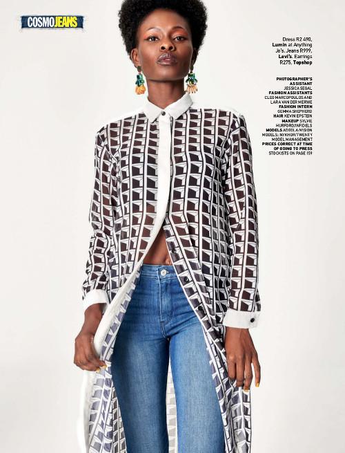 Nykhor Paul & Adeola Ariyo for Cosmopolitan Magazine South Africa - BellaNaija - July2015