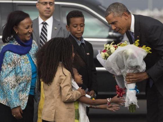 Obama in Ethiopia 1