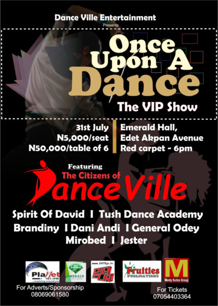 Once upon a dance vip show
