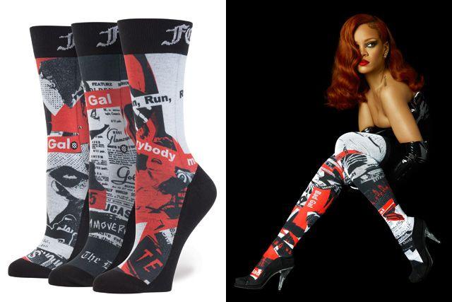 Rihanna for Stance Socks - BellaNaija - July2015 (1)