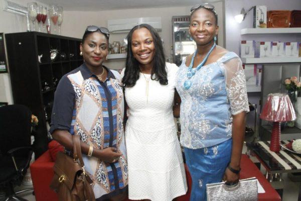 [L-R] Agnes Fasehun, Ifeoma Nwuke & Bennie Onukwuba