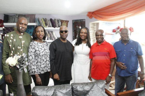 Wale Oyedji, Carol Oyedeji, Patrick Akinwutan, Ifeoma Nwuke, Okey Nwuke & Pablo Amaran