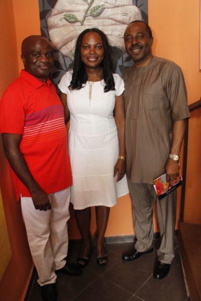 Okey Nwuke, Ifeoma Nwuke & Elias Igbinakenzua