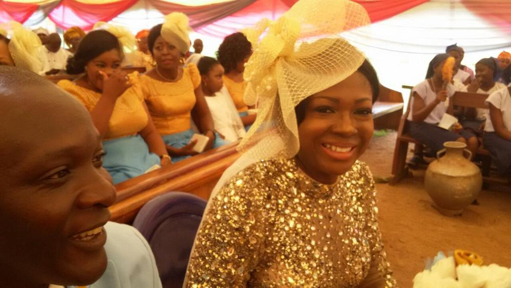 Susan Peters at her sister's Wedding 1