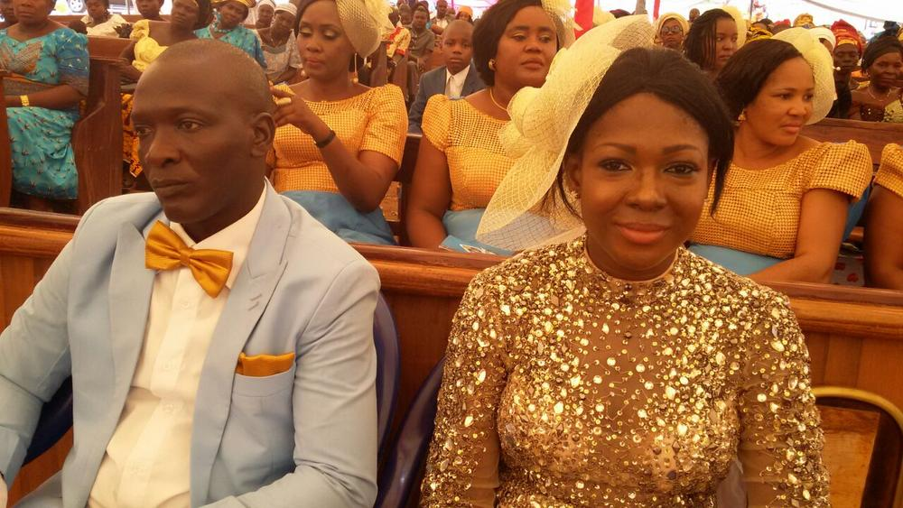 Susan Peters at her sister's Wedding 3