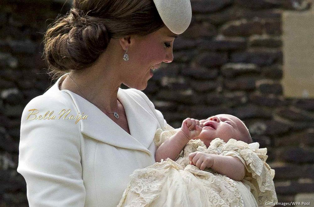 Official Photos from the Christening of Princess Charlotte of Cambridge!