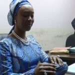 Toyin Saraki at EFCC office
