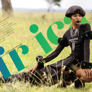 Tshepiso Ralelathe for ESSENCE Magazine's Global Issue - BellaNaija - July2015