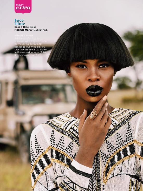 Tshepiso Ralelathe for ESSENCE Magazine's Global Issue - BellaNaija - July2015002