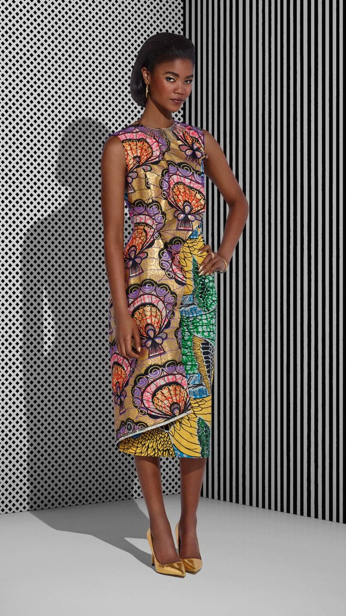Vlisco Tell Collection Lookbook - Bellanaija - July2015001
