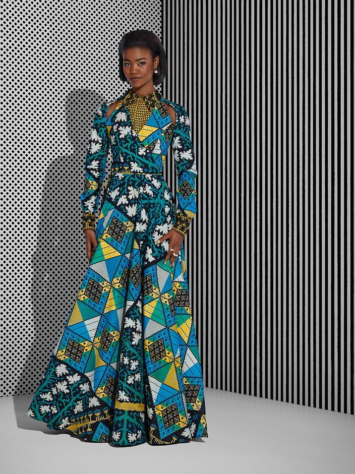 Vlisco Tell Collection Lookbook - Bellanaija - July2015002