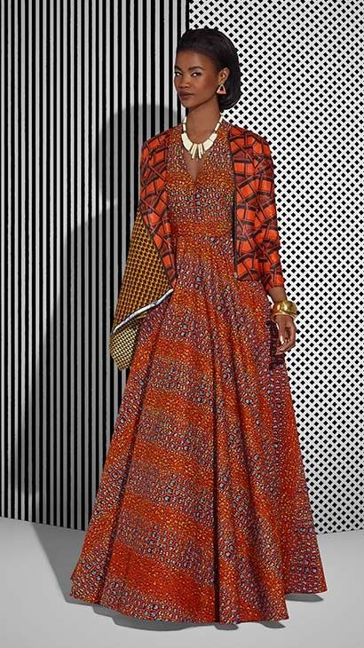 Vlisco Tell Collection Lookbook - Bellanaija - July2015003