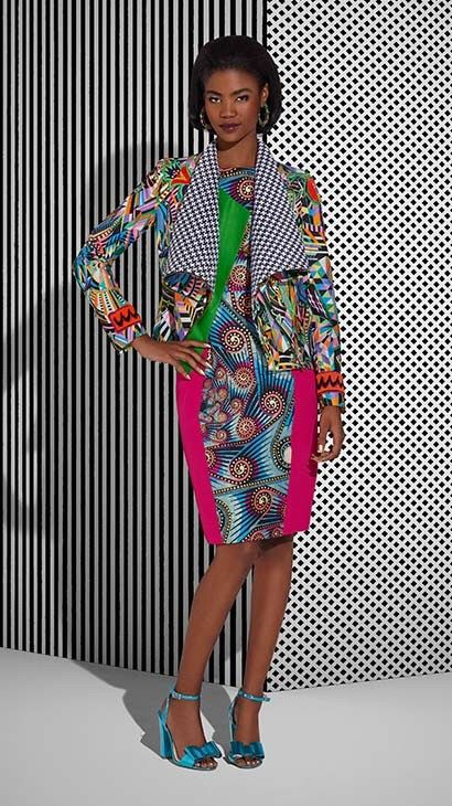 Vlisco Tell Collection Lookbook - Bellanaija - July2015004
