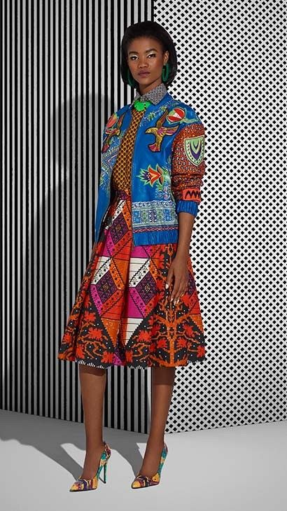 Vlisco Tell Collection Lookbook - Bellanaija - July2015006