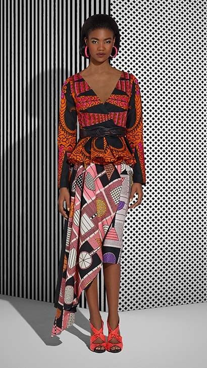 Vlisco Tell Collection Lookbook - Bellanaija - July2015009