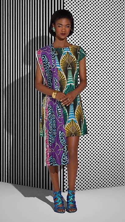 Vlisco Tell Collection Lookbook - Bellanaija - July2015010