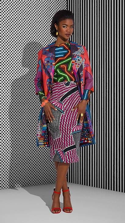 Vlisco Tell Collection Lookbook - Bellanaija - July2015017