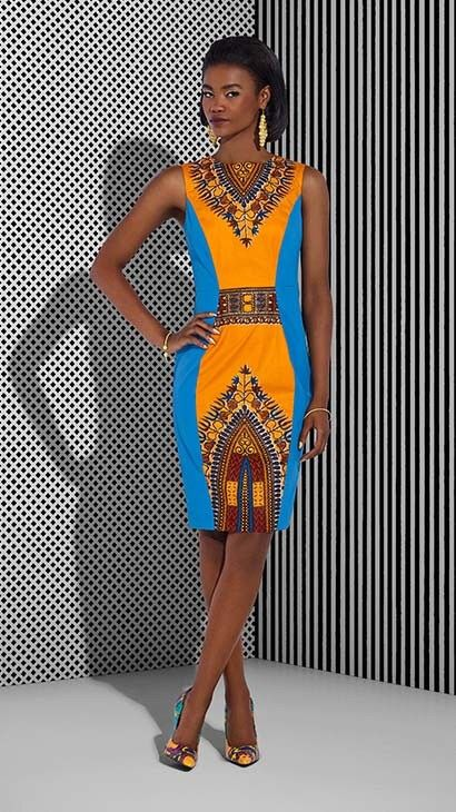 Vlisco Tell Collection Lookbook - Bellanaija - July2015020