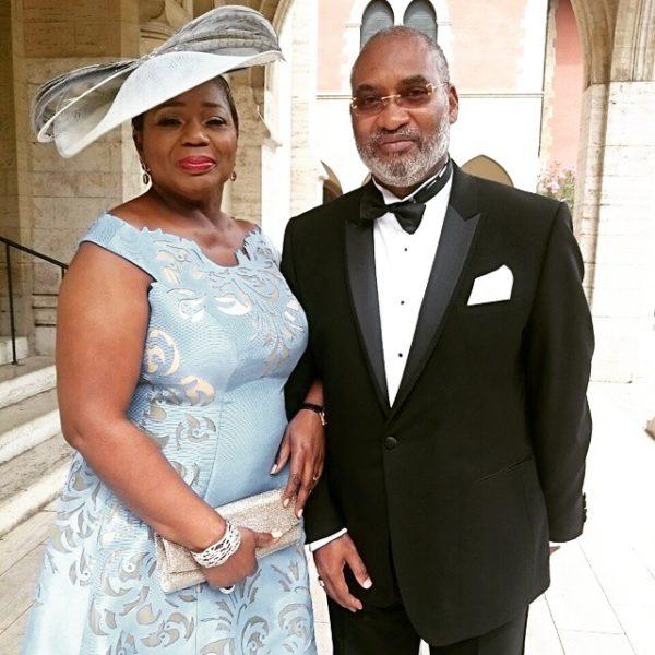 Wale Adefarasin's son Ade & Yewande Adeosun's Wedding in Florence, Italy 11