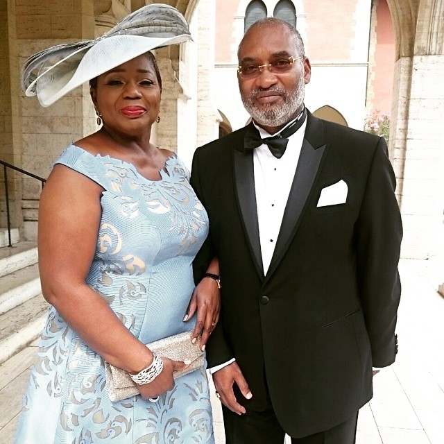 Emmanuel adefarasin wedding