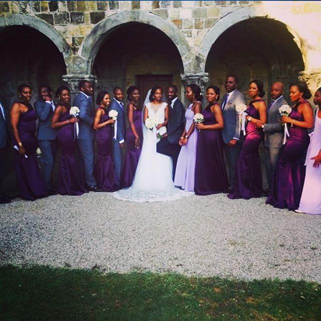 Wale Adefarasin's son Ade & Yewande Adeosun's Wedding in Florence, Italy 5