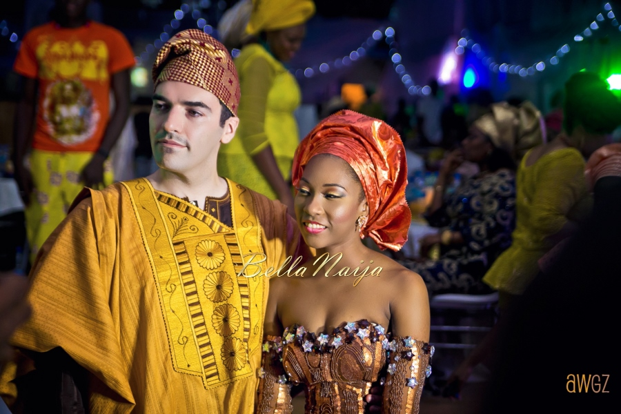 Yeni Kuti's Daughter's Wedding-Rolari Segun and Benedict Jacka - BellaNaija 20155G1A0024