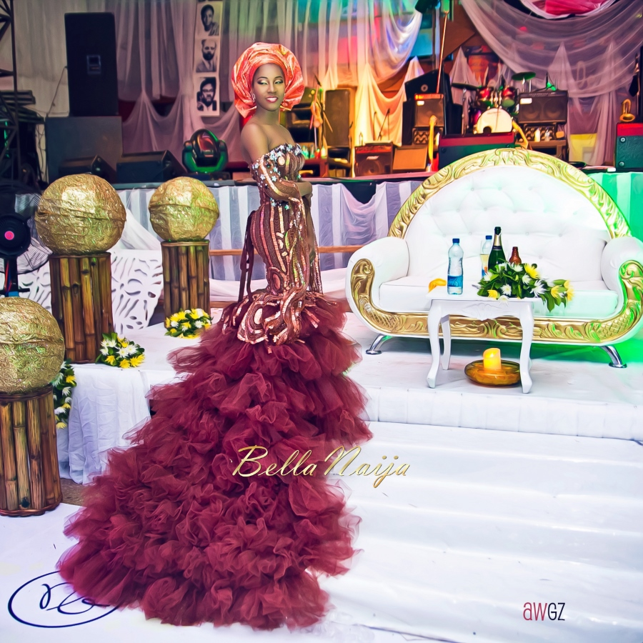 Yeni Kuti's Daughter's Wedding-Rolari Segun and Benedict Jacka - BellaNaija 20155G1A0084