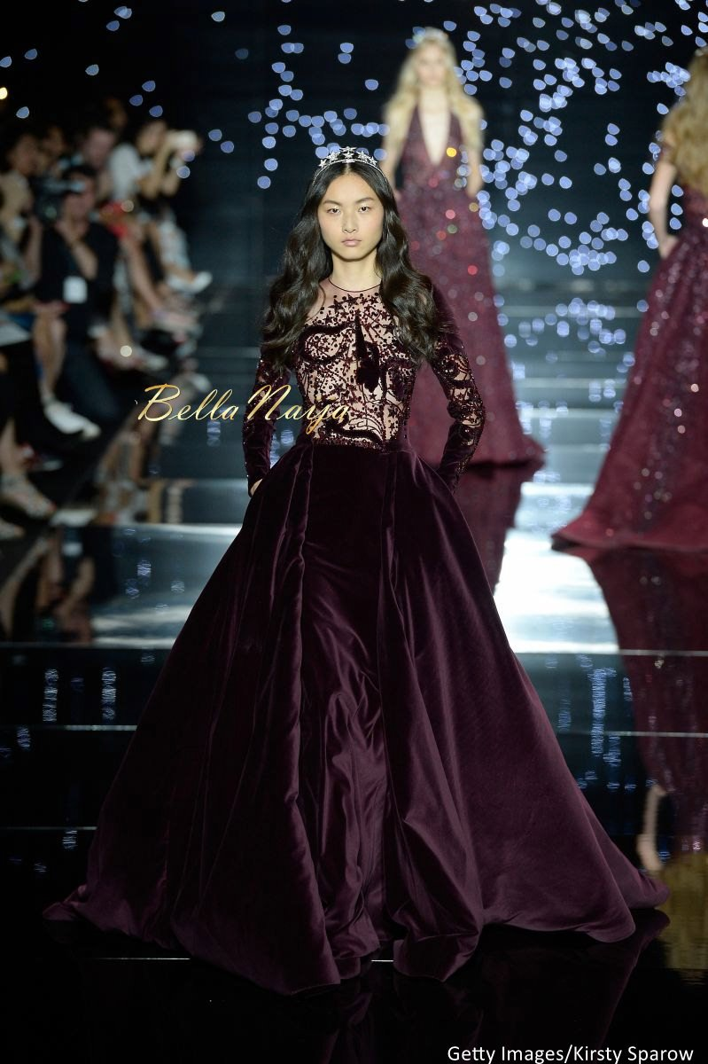 Zuhair Murad Fall Winter 2015 2016 haute Couture Collectio - Bellanaija - July2015041