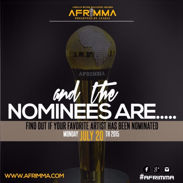 afrimma nominees flyer