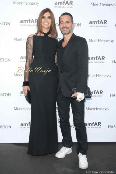 Carine Roitfeld & Marc Jacobs