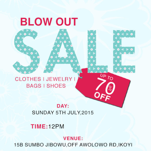blow out sale (2)