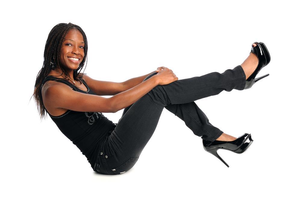 Kevwe Uwisike: The Struggle With High Heel Shoes - BellaNaija