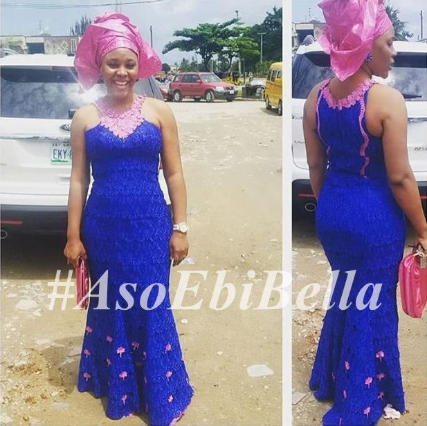 Dress by @asoebiguru