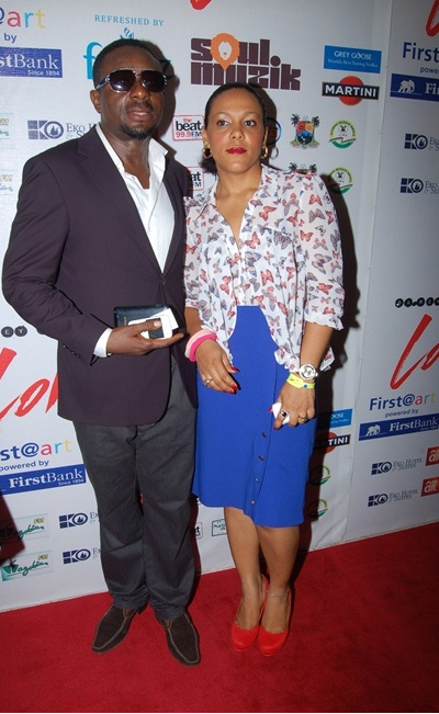 Image result for emeka ike and wife