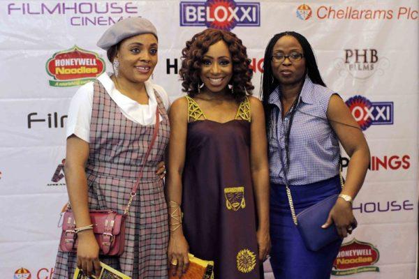 Biola Sokenu, Dakore Akande & Charlotte Ominiya
