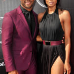 LOS ANGELES, CA - JULY 15: NFL player Russell Wilson (L) and recording artist Ciara arrive at the 2015 ESPYS at Microsoft Theater on July 15, 2015 in Los Angeles, California.  (Photo by Allen Berezovsky/Getty Images)