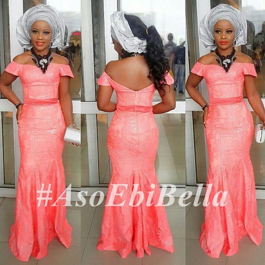 @iamnini1  in @hseofjulyetpeters, beads by @fascinators_by_omoge  makeup by @diamondzdivaz