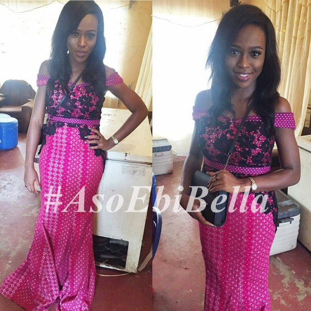 @pretiepink dress by @stylebyayaba