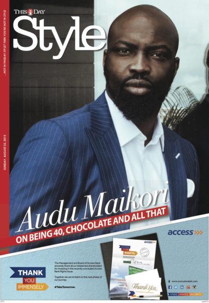 AUDU MAIKORI - 'THISDAY STYLE' COVER