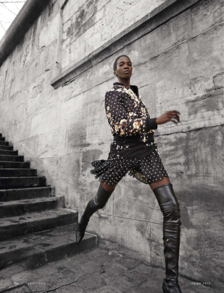 Aamito Stacie Lagum for Vanity Fair Italy August 2015 - BellaNaija - August 2015001