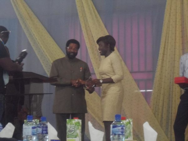 Award from the Major of Accra Hon Dr. Alfred Vanderpuije