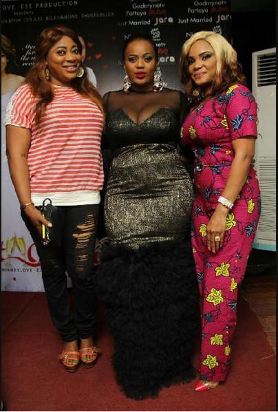 Ayo Adesanya, Chinney Eze & Iyabo Ojo
