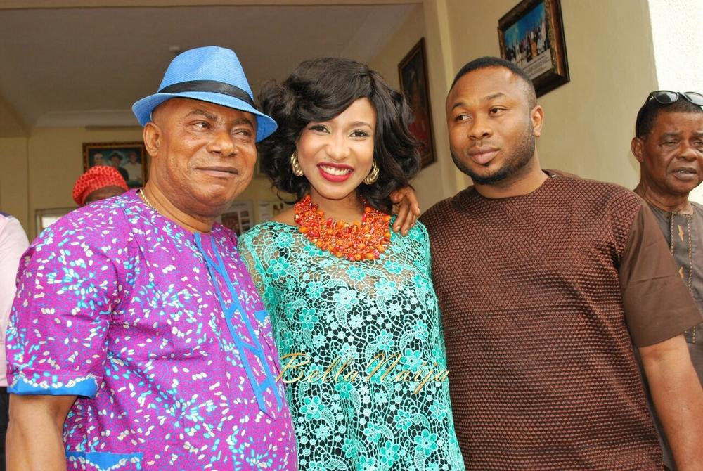 Its over! Tonto Dikehs family returns bride price to