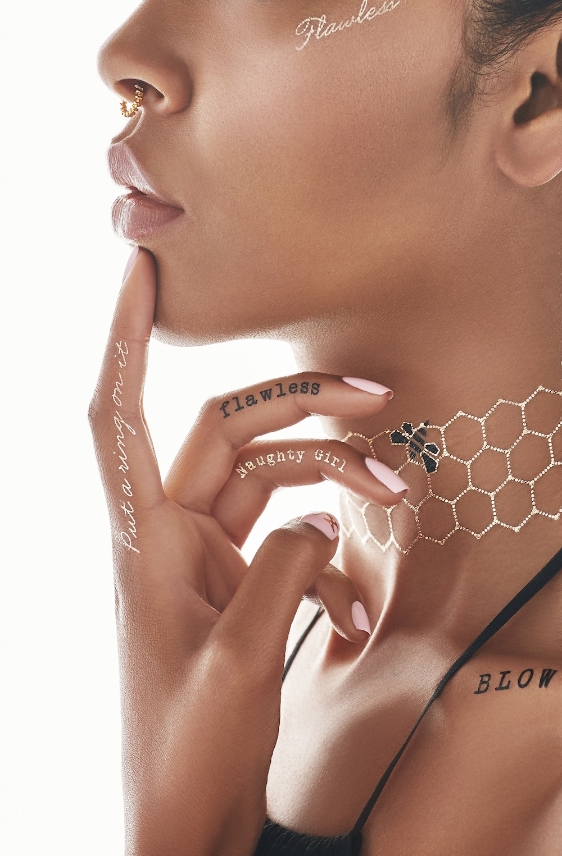 Beyonce Flash Tattoo Collaboration - BellaNaija - August2015004