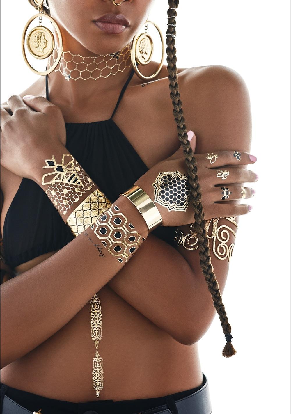Beyonce Flash Tattoo Collaboration - BellaNaija - August2015007