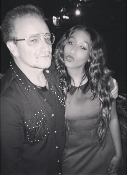 Bono & Victoria Kimani 1