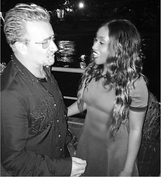 Bono & Victoria Kimani
