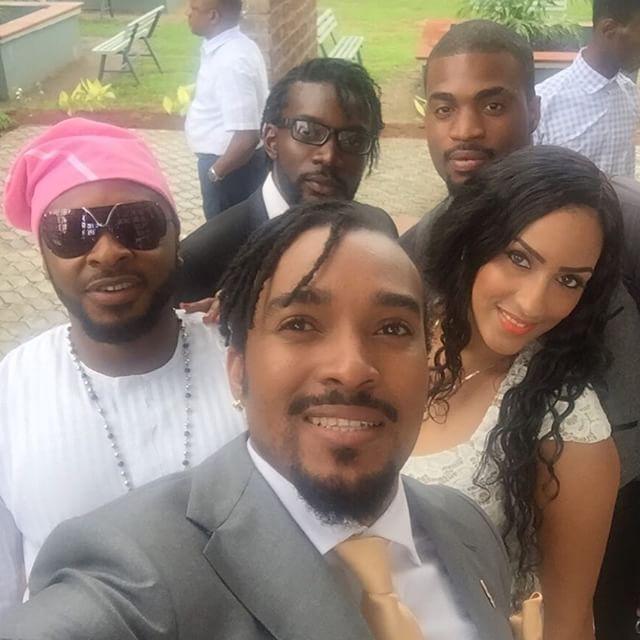 Bryan Okwara, Juliet Ibrahim at Mofe Duncan & Jessica Kakkad's Wedding