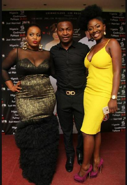 Chinney Eze, Funny Bone & Yvonne Jegede